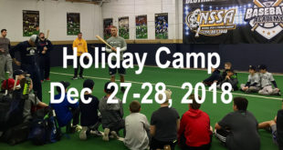 Holiday Skills Camp December 27th and 28th, 2018