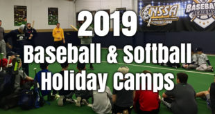 2019 Baseball & Softball Holiday Skills Camps